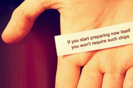 Начинай готовиться сейчас